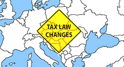 Experience in Tax Changes in Certain Central European Countries in the Past Two Decades