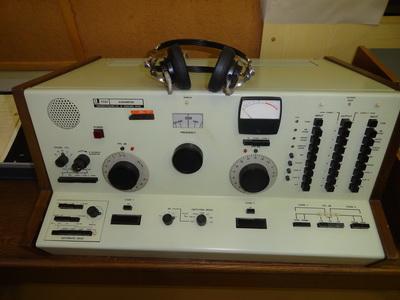 Békésy által készített audiométer